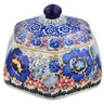 4-inch Stoneware Jar with Lid - Polmedia Polish Pottery H2859L