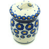 4-inch Stoneware Jar with Lid - Polmedia Polish Pottery H5364H