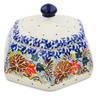 4-inch Stoneware Jar with Lid - Polmedia Polish Pottery H7343J