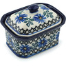 4-inch Stoneware Jar with Lid - Polmedia Polish Pottery H7381B