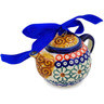 4-inch Stoneware Mini Tea Pot - Polmedia Polish Pottery H2853K
