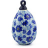 4-inch Stoneware Ornament Christmas Ball - Polmedia Polish Pottery H4343F