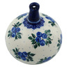 4-inch Stoneware Ornament Christmas Ball - Polmedia Polish Pottery H4417I