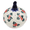 4-inch Stoneware Ornament Christmas Ball - Polmedia Polish Pottery H4418I
