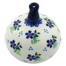 4-inch Stoneware Ornament Christmas Ball - Polmedia Polish Pottery H4425I