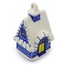 4-inch Stoneware Ornament House - Polmedia Polish Pottery H0076C