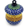 4-inch Stoneware Ornament Mushroom - Polmedia Polish Pottery H5056D