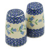 4-inch Stoneware Salt and Pepper Set - Polmedia Polish Pottery H2728K