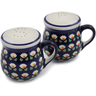 4-inch Stoneware Salt and Pepper Set - Polmedia Polish Pottery H3140K