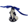 4-inch Stoneware Santa Clause Ornament - Polmedia Polish Pottery H6795K