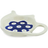 4-inch Stoneware Tea Bag or Lemon Plate - Polmedia Polish Pottery H0038K