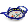 4-inch Stoneware Tea Bag or Lemon Plate - Polmedia Polish Pottery H0540K