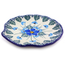 4-inch Stoneware Tea Bag or Lemon Plate - Polmedia Polish Pottery H0896I