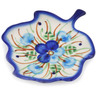 4-inch Stoneware Tea Bag or Lemon Plate - Polmedia Polish Pottery H1576L