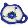 4-inch Stoneware Tea Bag or Lemon Plate - Polmedia Polish Pottery H4908L