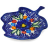 4-inch Stoneware Tea Bag or Lemon Plate - Polmedia Polish Pottery H6453K