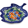 4-inch Stoneware Tea Bag or Lemon Plate - Polmedia Polish Pottery H6454K
