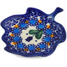 4-inch Stoneware Tea Bag or Lemon Plate - Polmedia Polish Pottery H6456K