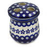 4-inch Stoneware Toothbrush Holder - Polmedia Polish Pottery H1367L