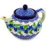 40 oz Stoneware Tea or Coffee Pot - Polmedia Polish Pottery H2395D