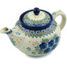 40 oz Stoneware Tea or Coffee Pot - Polmedia Polish Pottery H2863I