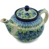 40 oz Stoneware Tea or Coffee Pot - Polmedia Polish Pottery H2865I