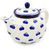 40 oz Stoneware Tea or Coffee Pot - Polmedia Polish Pottery H4331B