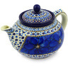 40 oz Stoneware Tea or Coffee Pot - Polmedia Polish Pottery H6141E