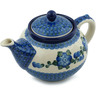 40 oz Stoneware Tea or Coffee Pot - Polmedia Polish Pottery H8630A