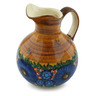 44 oz Stoneware Pitcher - Polmedia Polish Pottery H5370I