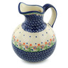 44 oz Stoneware Pitcher - Polmedia Polish Pottery H6089I