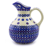 44 oz Stoneware Pitcher - Polmedia Polish Pottery H9137I