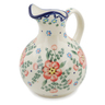 44 oz Stoneware Pitcher - Polmedia Polish Pottery H9200K