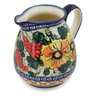 45 oz Stoneware Pitcher - Polmedia Polish Pottery H9524B