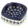 5-inch Stoneware Ashtray - Polmedia Polish Pottery H0327A
