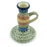 5-inch Stoneware Candle Holder - Polmedia Polish Pottery H1674B