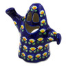 5-inch Stoneware Candle Holder - Polmedia Polish Pottery H3143K