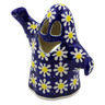 5-inch Stoneware Candle Holder - Polmedia Polish Pottery H3227K
