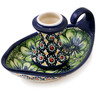 5-inch Stoneware Candle Holder - Polmedia Polish Pottery H3379F