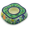 5-inch Stoneware Candle Holder - Polmedia Polish Pottery H4124G