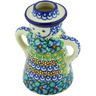 5-inch Stoneware Candle Holder - Polmedia Polish Pottery H4147G