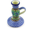 5-inch Stoneware Candle Holder - Polmedia Polish Pottery H5496G