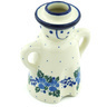 5-inch Stoneware Candle Holder - Polmedia Polish Pottery H6660H