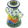 5-inch Stoneware Candle Holder - Polmedia Polish Pottery H6685G