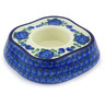 5-inch Stoneware Candle Holder - Polmedia Polish Pottery H6796G