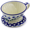 5-inch Stoneware Coffee Filter - Polmedia Polish Pottery H5088I