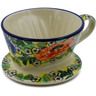 5-inch Stoneware Coffee Filter - Polmedia Polish Pottery H9965I