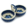 5-inch Stoneware Condiment Server - Polmedia Polish Pottery H2817A
