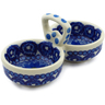 5-inch Stoneware Condiment Server - Polmedia Polish Pottery H2825A