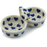 5-inch Stoneware Condiment Server - Polmedia Polish Pottery H2915I